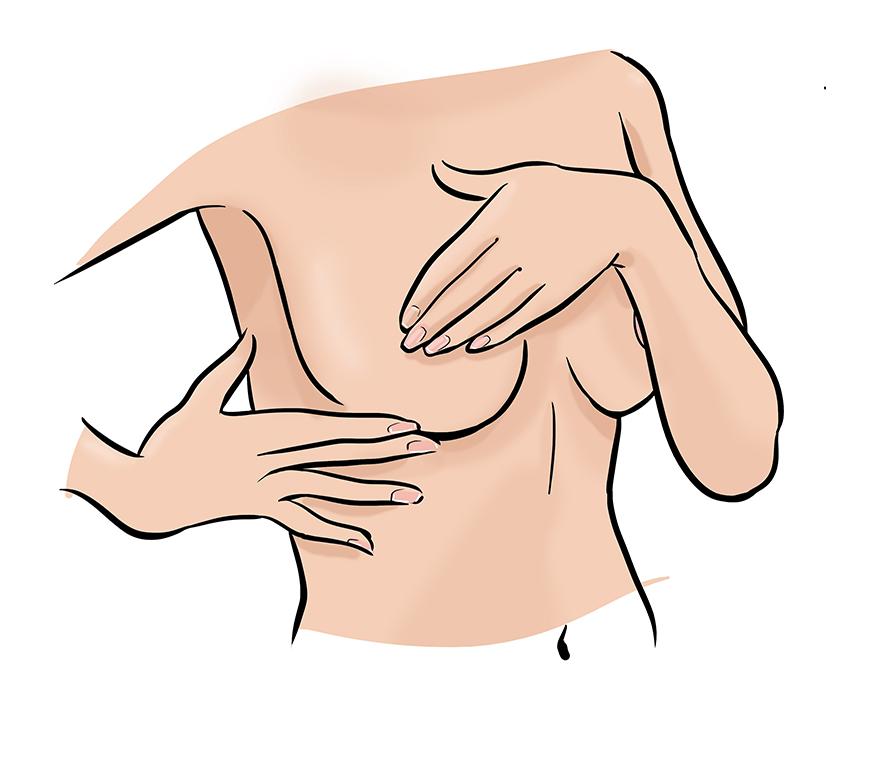 Was tun gegen hängende brust